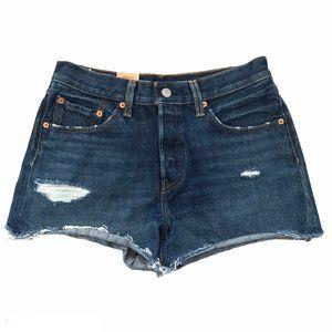 Levi's 501 High Rise Denim Jean Shorts